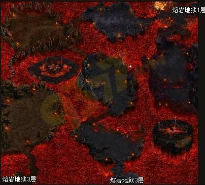 烈焰主城地图