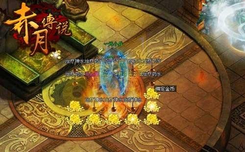 赤月传说焚天寺庙